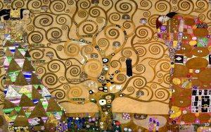 """El árbol de la vida"" de Gustav Klimt."