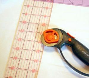 regla y cuchilla patchwork