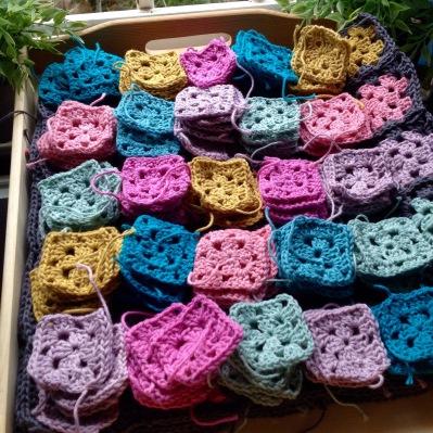 Crochet happy green life - Cuadraditos de crochet ...